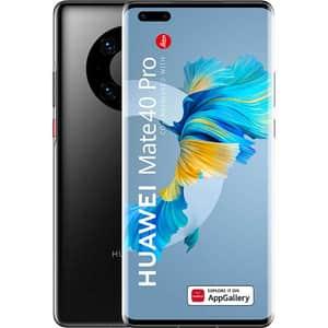 Telefon HUAWEI Mate 40 Pro 5G, 256GB, 8GB RAM, Dual SIM, Black