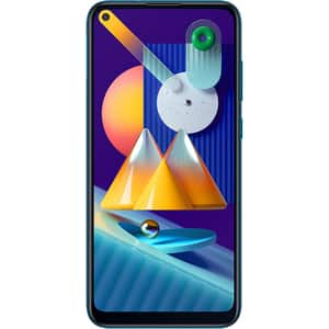 Telefon SAMSUNG Galaxy M11, 32GB, 3GB RAM, Dual SIM, Metallic Blue