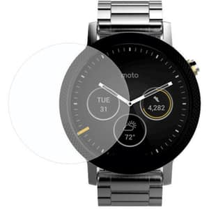 Folie Tempered Glass pentru Motorola Moto 360 2nd-gen 46mm, SMART PROTECTION, display