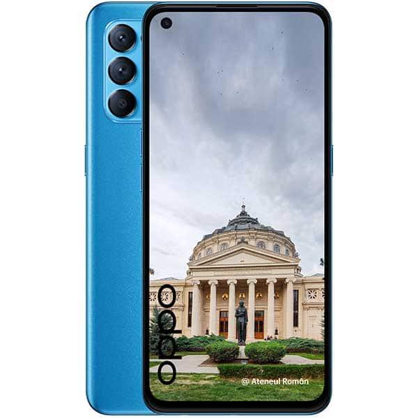 Telefon OPPO Reno5 5G, 128GB, 8GB RAM, Dual SIM, Astral Blue