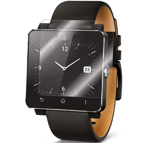Folie Tempered Glass pentru Sony Smartwatch 2, SMART PROTECTION, display