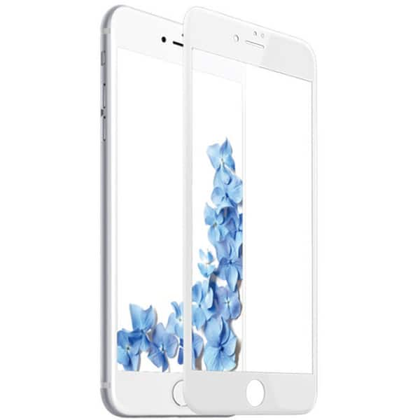 Folie Tempered Glass pentru Iphone 7, SMART PROTECTION, fulldisplay, alb