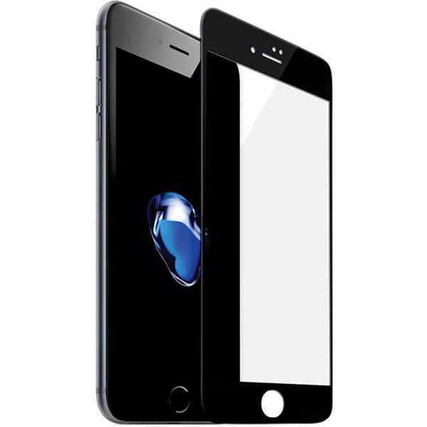 Folie Tempered Glass pentru iPhone 8, SMART PROTECTION, fulldisplay, negru