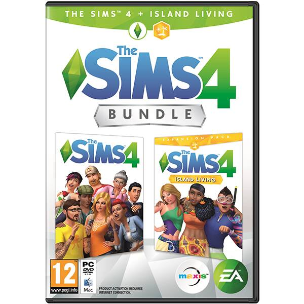 The Sims 4 + The Sims 4 Island Living Expansion Pack Bundle PC