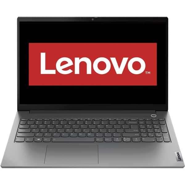 "Laptop LENOVO ThinkBook 15 G2 ITL, Intel Core i3-1115G4 pana la 4.1GHz, 15.6"" Full HD, 8GB, SSD 256GB, Intel UHD Graphics, Free Dos, negru"