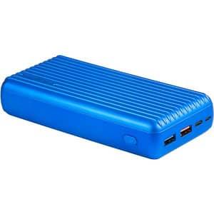 Baterie externa PROMATE Titan-30, 30000mAh, 1xUSB QC 3.0, 1xUSB, In/Out Type C, albastru