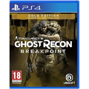 Tom Clancy's Ghost Recon Breakpoint Gold Edition PS4
