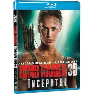 Tomb Raider Inceputul Blu-ray 3D