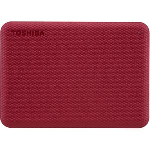 Hard Disk Drive portabil TOSHIBA Canvio Advance, 2TB, USB 3.2 Gen 1, rosu