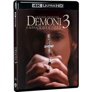 Traind printre demoni 3: E mana diavolului Blu-ray 4K Steelbbok