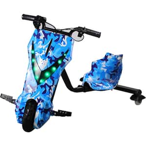Tricicleta electrica MYRIA Drifter Sky Rider MY7039BL, 8inch, albastru marin