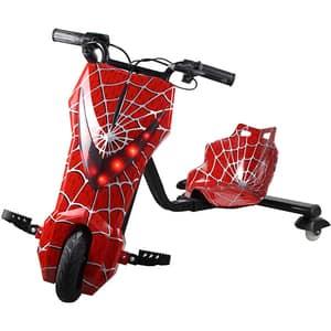 Tricicleta electrica MYRIA Drifter Sky Rider MY7039RD, 8inch, rosu