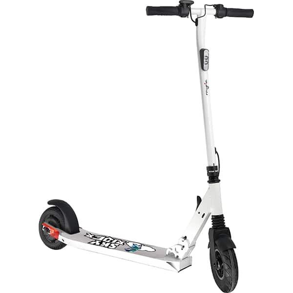 Trotineta electrica pliabila MYRIA Sky Rider, 8 inch, alb