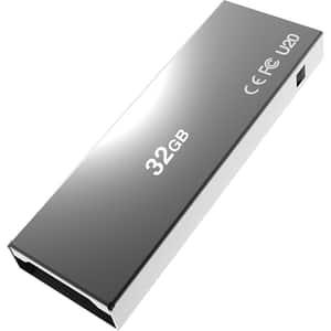 Memorie USB ADDLINK U20, 32GB, USB 2.0, Titanium