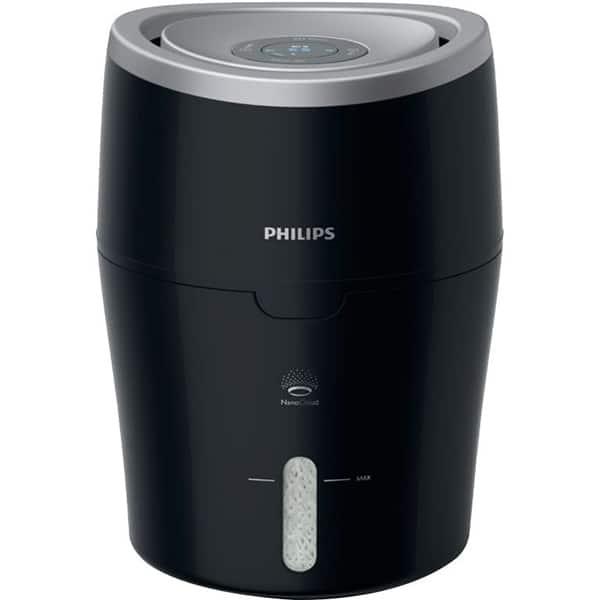 Umidificator de aer PHILIPS HU4813/10, 2l, negru-argintiu