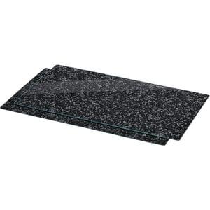 Tocator XAVAX Granite 111020, 52x30cm, sticla, gri