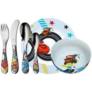 Set complet de hranire  WMF Disney Cars, 3 ani, 6 piese, multicolor