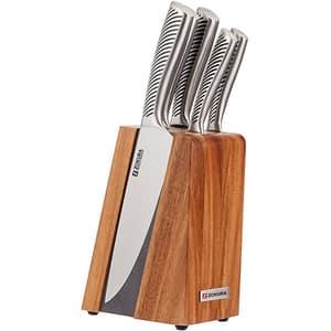 Set cutite ZOKURA Z1191, 9-20cm, argintiu