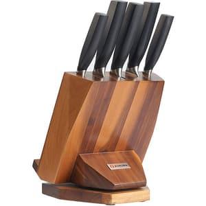 Set cutite ZOKURA Z1194, 6 piese, 9 - 20cm, negru