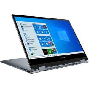 "Laptop 2 in 1 ASUS ZenBook Flip 13 UX363EA-EM045R, Intel Core i7-1165G7 pana la 4.7Ghz, 13.3"" Full HD Touch, 16GB, SSD 1TB, Intel Iris Plus, Windows 10 Pro, gri"