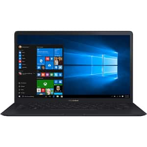"Laptop ASUS ZenBook S UX391UA-EG006T, Intel® Core™ i7-8550U pana la 4.0Ghz, 13.3"" Full HD, 8GB, SSD 256GB, Intel UHD Graphics 620, Windows 10 Home, Deep Dive Blue"
