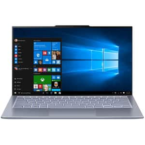 "Laptop ASUS ZenBook 13 UX392FA-AB002R, Intel Core i7-8565U pana la 4.6, 13.9"" Full HD, 16GB, SSD 512GB, Intel UHD Graphics 620, Windows 10 Pro, Utopia Blue"