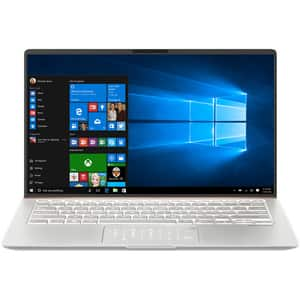 "Laptop ASUS ZenBook 14 UX433FAC-A5290T, Intel Core i5-10210U pana la 4.2GHz, 14"" Full HD, 8GB, SSD 512GB, Intel UHD Graphics 620, Windows 10 Home, Icicle Silver"