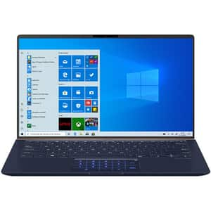 "Laptop ASUS ZenBook 14 UX433FLC-A5435T, Intel Core i7-10510U pana la 4.9GHz, 14"" Full HD, 16GB, SSD 512GB, NVIDIA GeForce MX250 2GB, Windows 10 Home, Royal Blue"