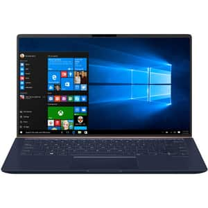 "Laptop ASUS ZenBook 14 UX433FAC-A6292T, Intel Core i5-10210U pana la 4.2GHz, 14"" Full HD, 8GB, SSD 512GB, Intel UHD Graphics 620, Windows 10 Home, Royal Blue"