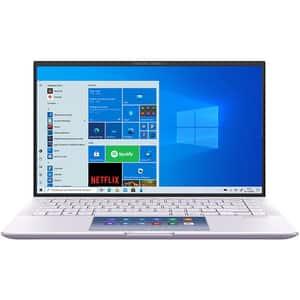 """Laptop ASUS ZenBook 14 UX435EG-A5046R, Intel Core i7-1165G7 pana la 4.7GHz, 14"""" Full HD, 16GB, SSD 1TB, NVIDIA GeForce MX450 2GB, Windows 10 Pro, Lilac Mist"""