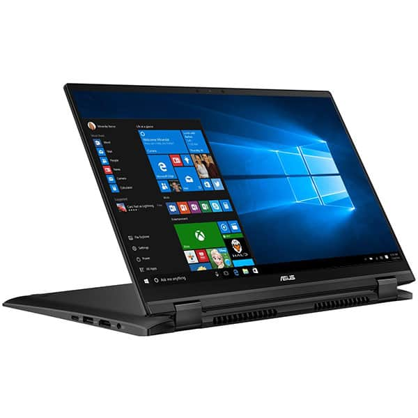 "Laptop 2 in 1 ASUS ZenBook Flip 14 UX463FA-AI039T, Intel Core i5-10210U pana la 4.2GHz, 14"" Full HD Touch, 8GB, SSD 512GB, Intel UHD Graphics 620, Windows 10 Home, Gun Grey"
