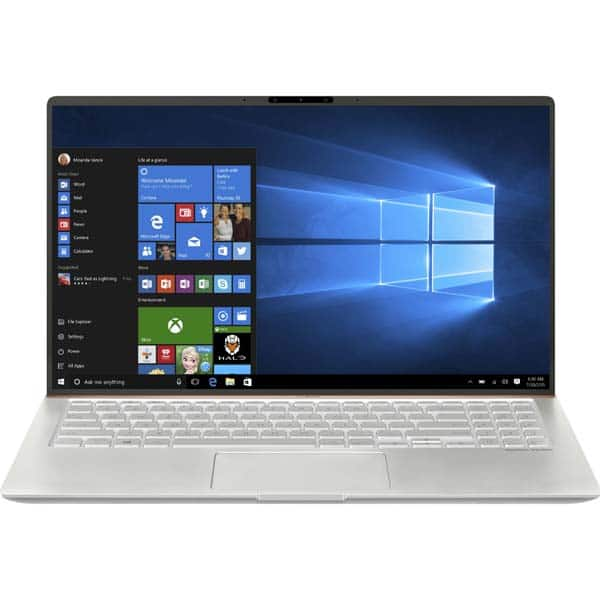 "Laptop ASUS ZenBook 15 UX533FD-A8068R, Intel Core i7-8565U 4.6GHz, 15.6"" Full HD, 16GB, SSD 512GB, NVIDIA GeForce GTX 1050 MAX Q 2GB, Windows 10 Pro, Icicle Silver Metal"