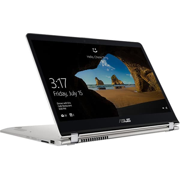 "Laptop 2 in 1 ASUS ZenBook Flip UX561UA-BO056T, 15.6"" Full HD Touch, Intel Core i7-8550U pana la 4.0GHz, 8GB, SSD 512GB, Intel UHD Graphics 620, Windows 10 Home"