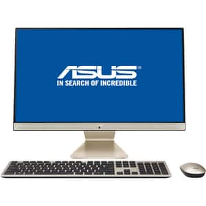 "Sistem PC All in One ASUS Vivo V241FFK-BA028D, 23.8"" Full HD, Intel Core i7-8565U pana la 4.6GHz, 8GB, SSD 512GB, NVIDIA GeForce MX130 2GB, Endless"