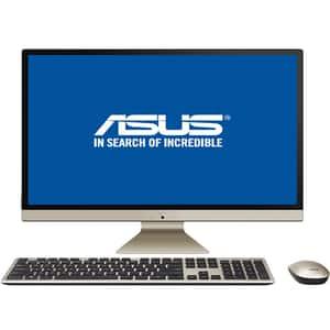 """Sistem PC All in One ASUS Vivo V272UAK-BA017D, 27"""" Full HD, Intel Core i5-8250U pana la 3.4GHz, 8GB, 1TB + SSD 128GB, Intel UHD Graphics 620, Endless"""