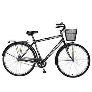 "Bicicleta City VELORS V2893B, 28"", cadru otel, negru-alb"