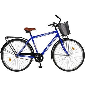 "Bicicleta City VELORS V2893S, 28"", cadru otel, albastru-alb"