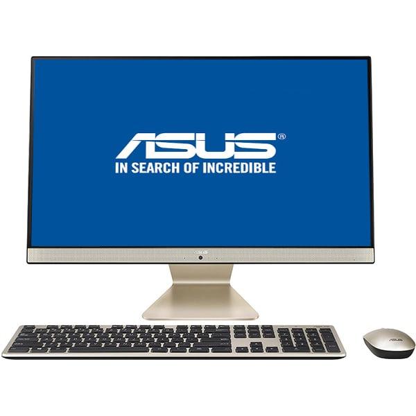"Sistem PC All in One ASUS Vivo V241FAK-BA046D, 23.8"" Full HD, Intel Core i5-8265U pana la 3.4GHz, 8GB, 1TB + SSD 128GB, Intel UHD Graphics 620, Endless"