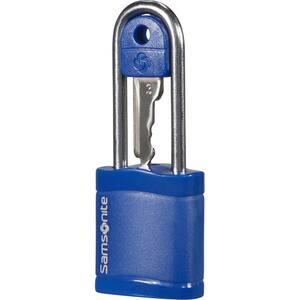 Lacat cu cheie SAMSONITE CO1*11045, albastru