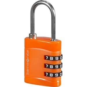 Lacat cu cifru SAMSONITE CO1*96047, portocaliu