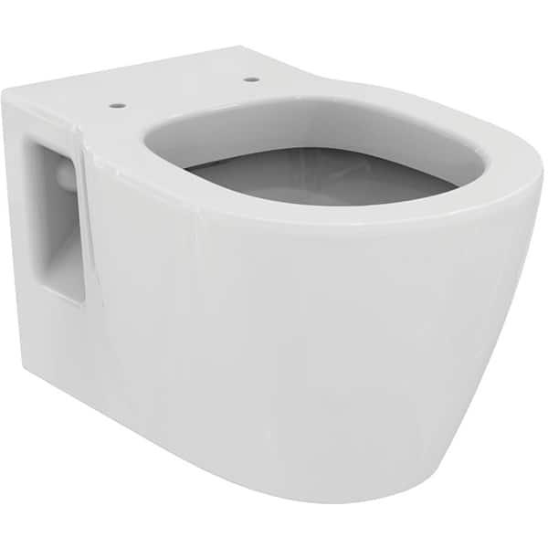 Vas WC IDEAL STANDARD Connect E8035MA, montaj suspendat, evacuare orizontala, alb