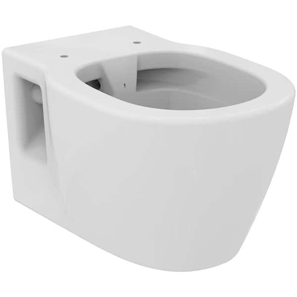 Vas WC IDEAL STANDARD Connect E814901, montaj suspendat, evacuare orizontala, alb