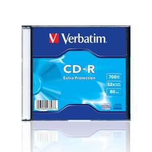 CD-R VERBATIM VB00861, 52x,  0.7GB, 10 buc