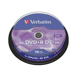 DVD+R VERBATIM VB020203, 8x,  8.5GB, 10 buc