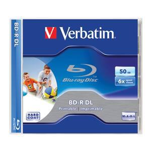 BD-R DL VERBATIM VB030102, 6x, 50GB, 1buc