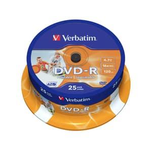 DVD-R VERBATIM VB1013, 16x,  4.7GB, 25 buc