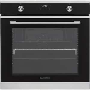 Cuptor incorporabil VORTEX VCE75DBG02V, Electric, Autocuratare catalitica, 78 l, Clasa A, negru