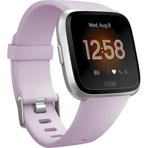 Smartwatch FITBIT Versa Lite FB415SRLV, Android/iOS, silicon, Lilac-Silver
