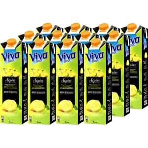 Bautura racoritoare necarbogazoasa VIVA Lemon Fresh bax 1L x 12 sticle