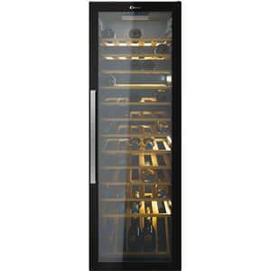 Racitor de vinuri CANDY CWC 200EELW/N, 81 sticle, H 146 cm, Clasa G, Wi-Fi, negru